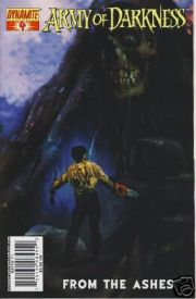 Army of Darkness #4 From The Ashes Arthur Suydam Cover